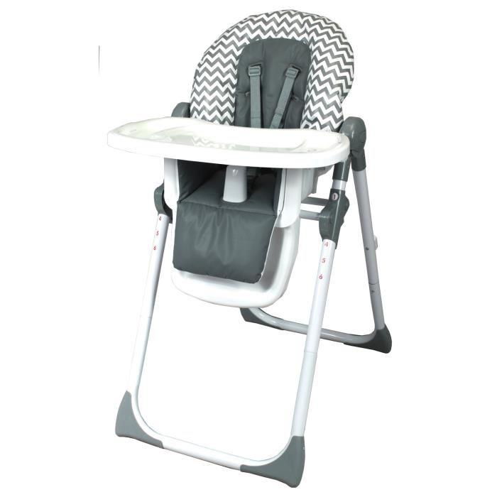 chaise haute multiposition