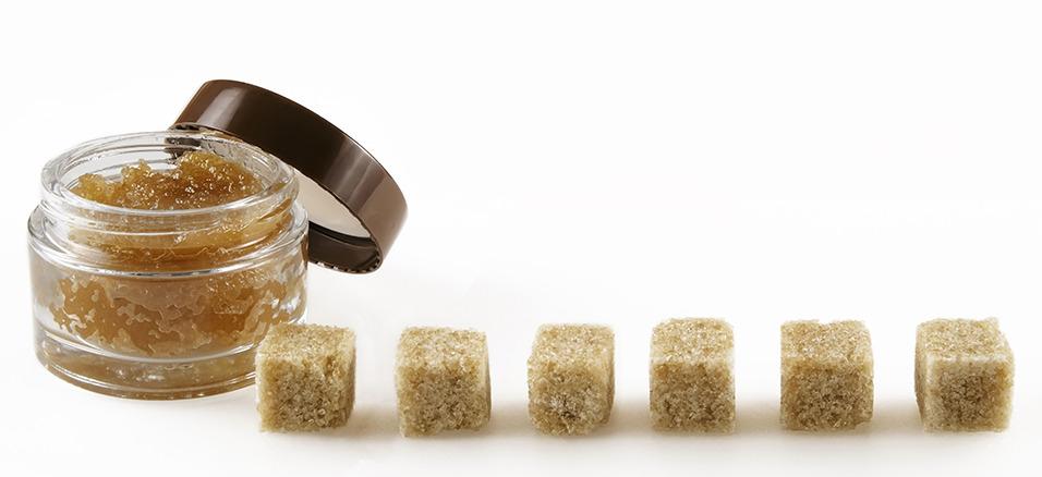 gommage au sucre
