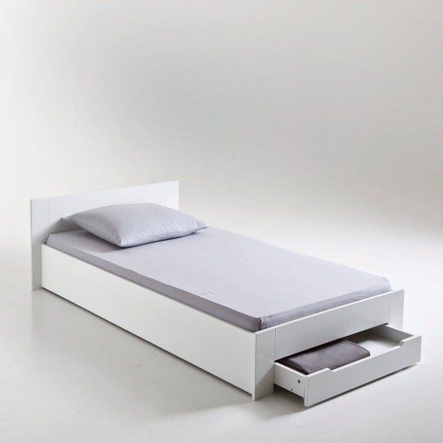 lit 1 personne avec sommier
