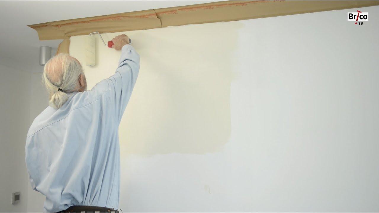 peindre un mur