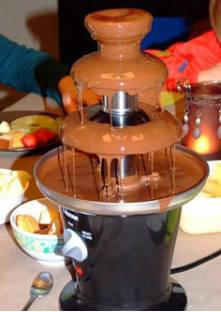 recette fontaine chocolat