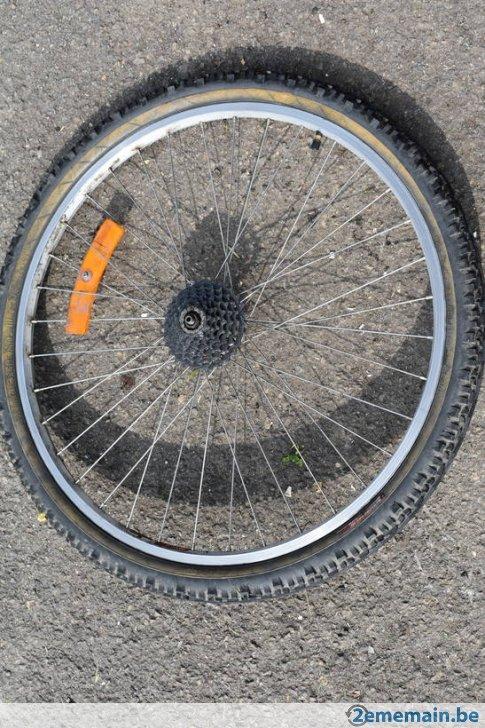roue arriere vtt