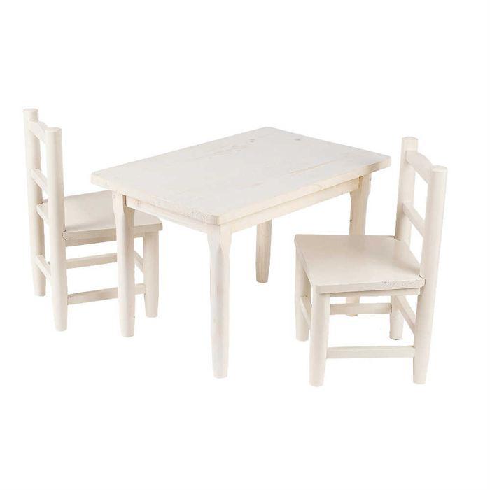 table et chaise bebe