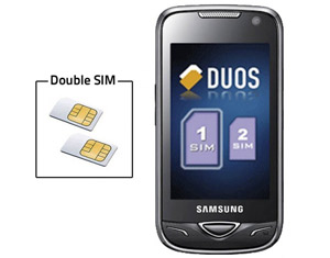 telephone double sim