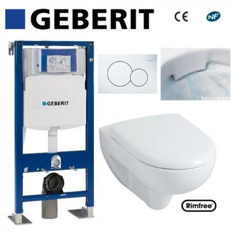 toilette suspendu geberit