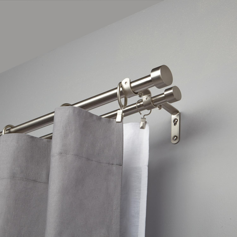 tringle rideau double