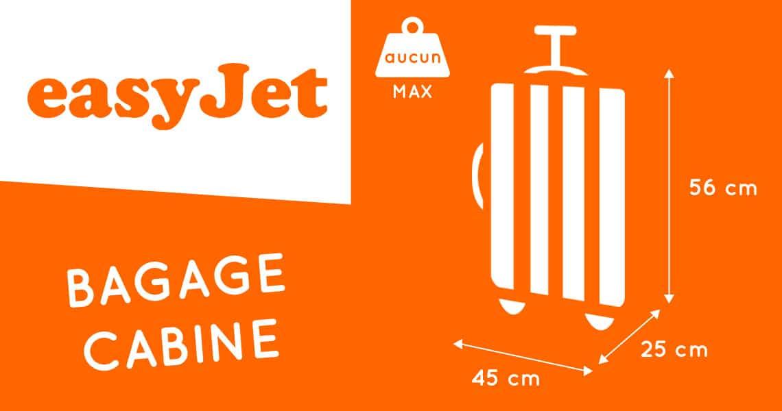 bagage à main easyjet