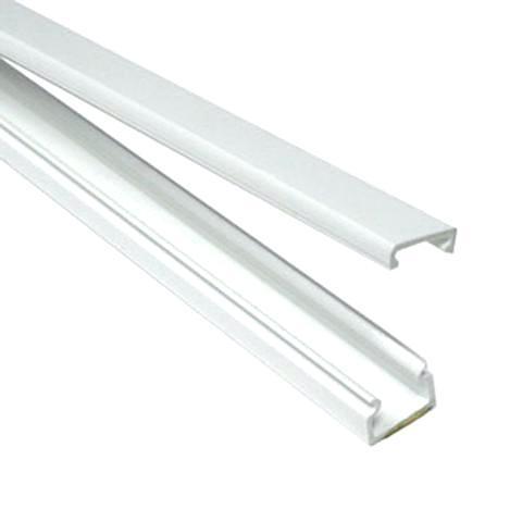 blanc Conduit de c/âbles PVC 20571 Hama jusqu/à 3 c/âbles, 3 unit/és semi-circulaire 100 x 1,6 x 1,6 cm