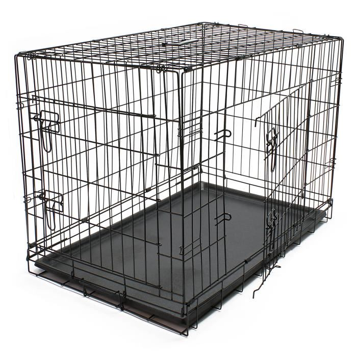 cage transport chien pliable