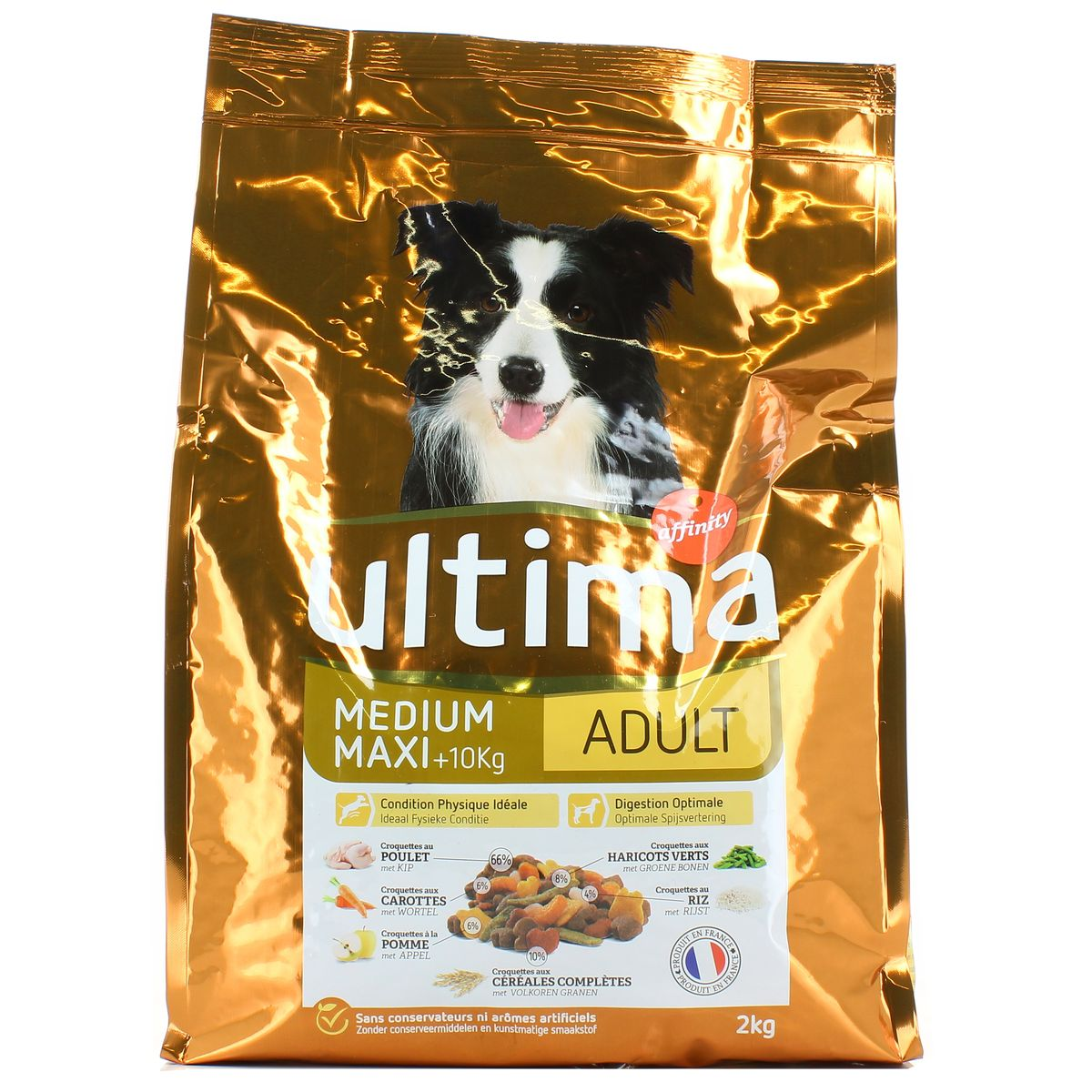 croquette chien ultima affinity