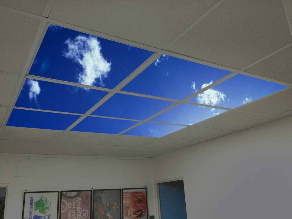 dalle plafond led
