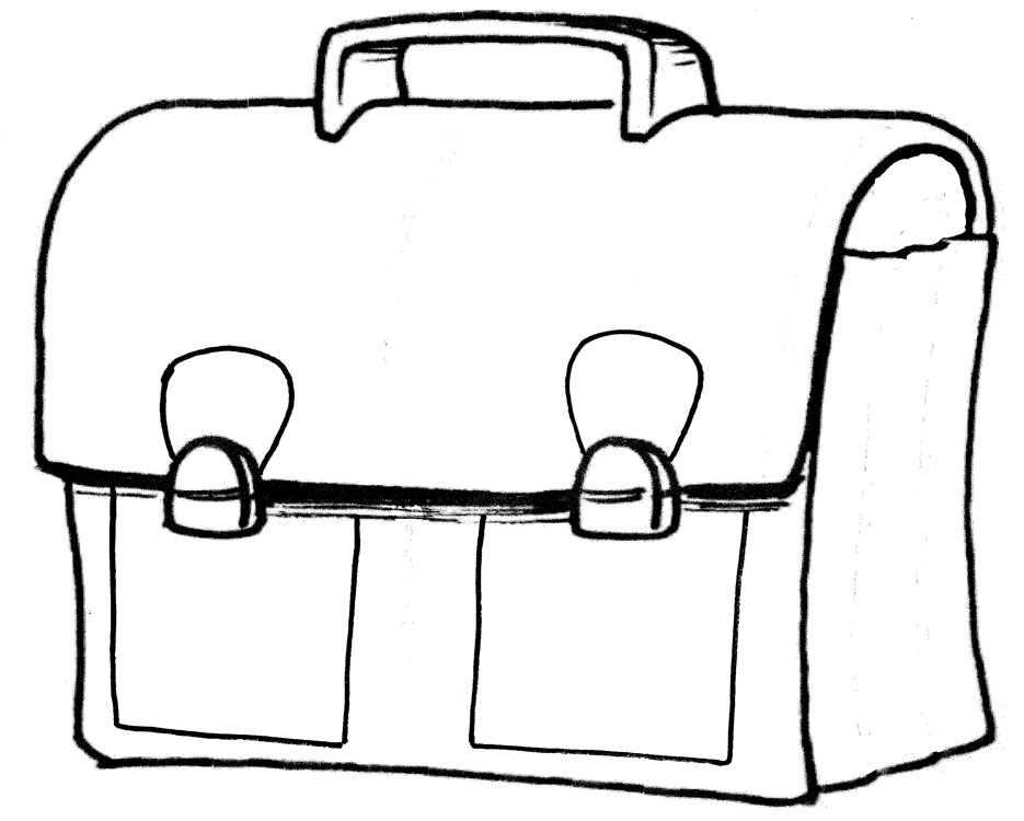 dessin d un cartable