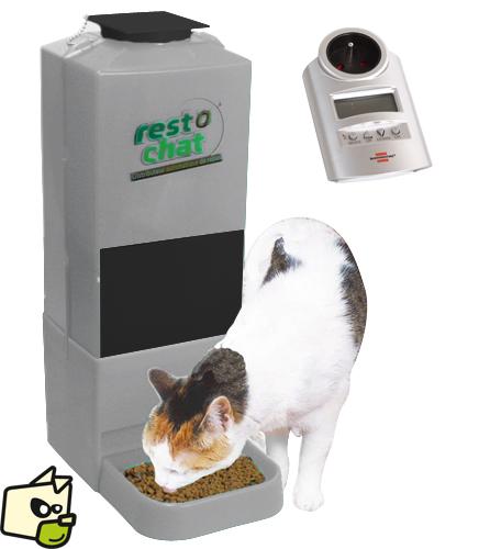 distributeur a croquette chat