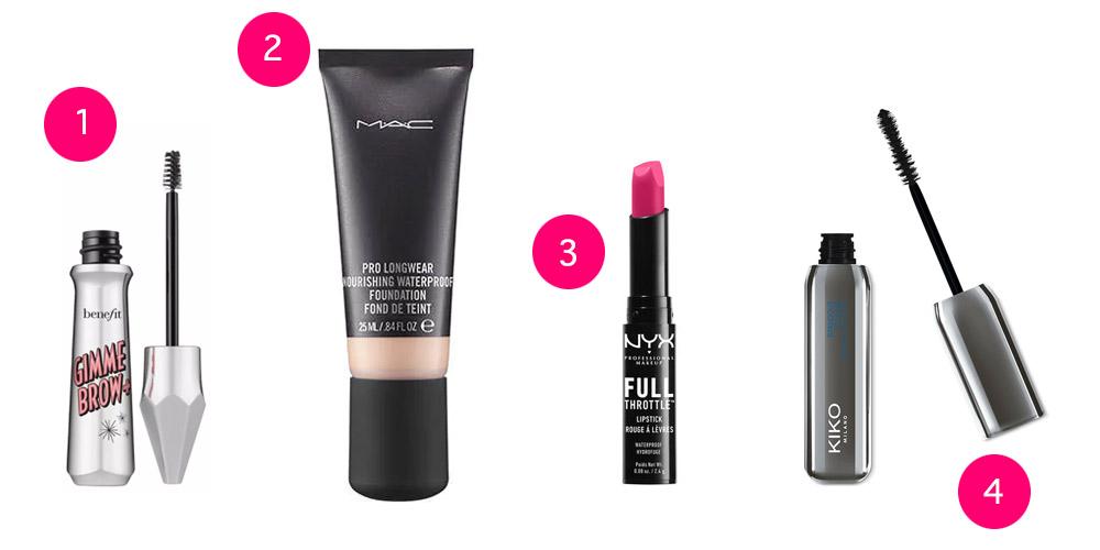 maquillage waterproof