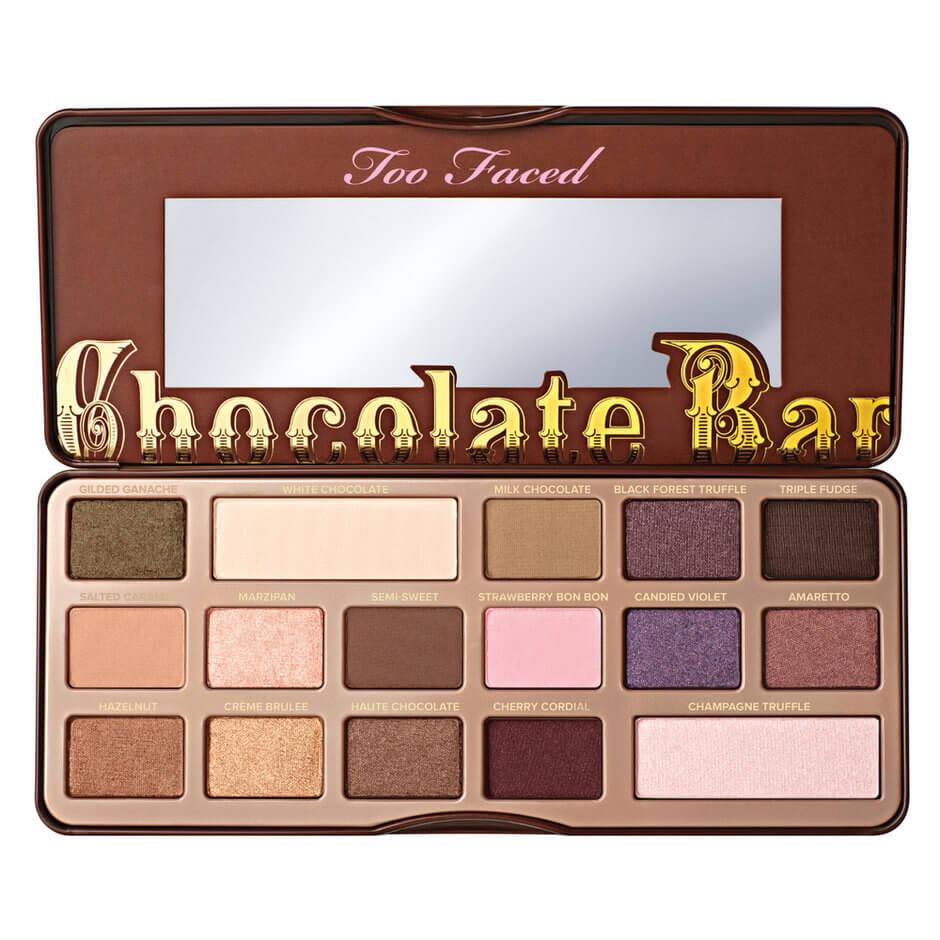 palette chocolate bar
