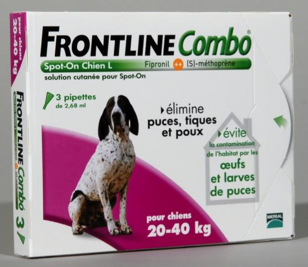 pipette frontline combo chien