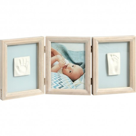 baby art double print frame