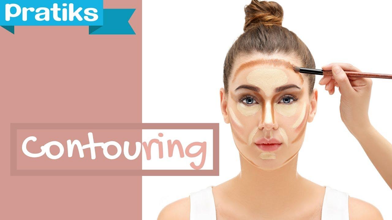 maquillage pour contouring