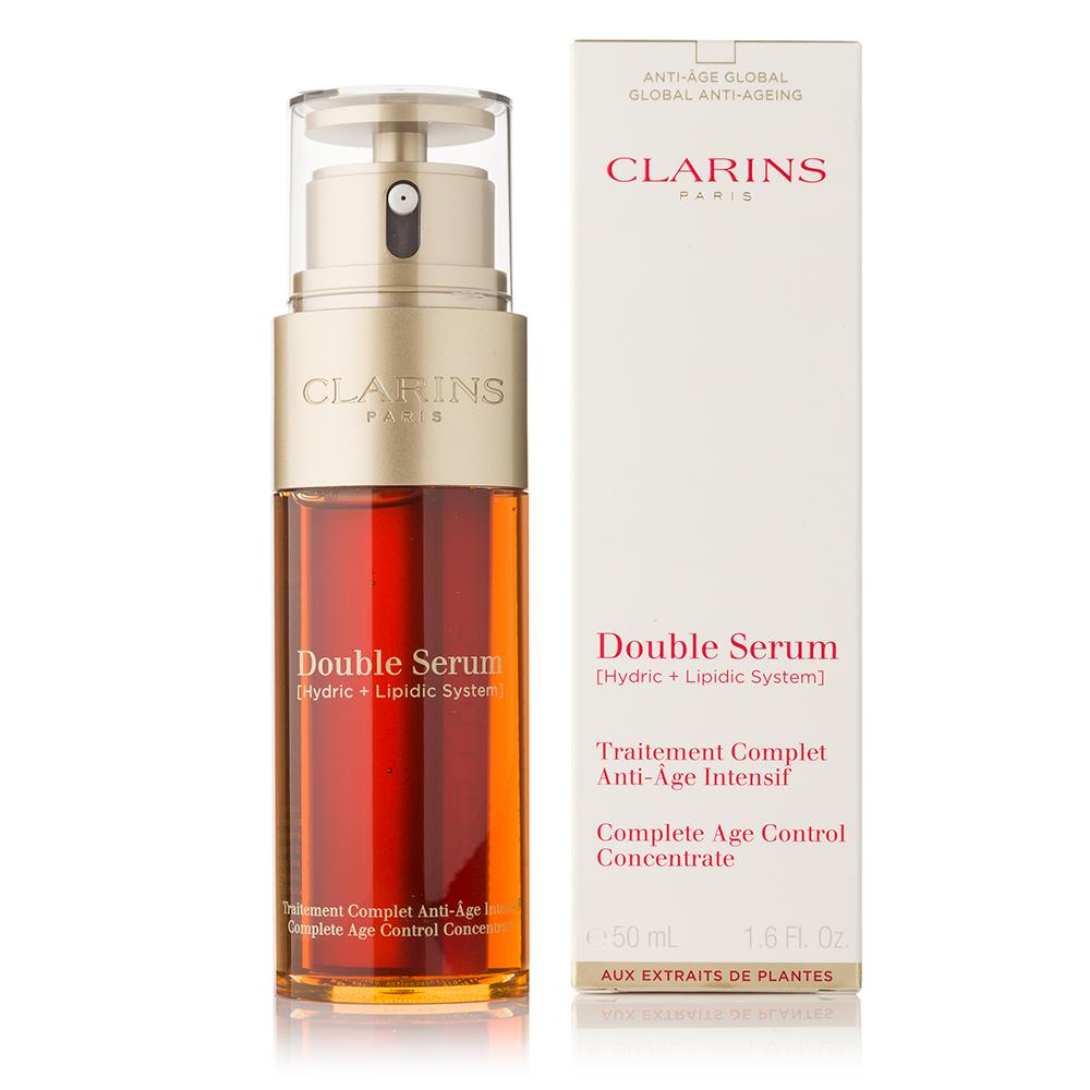 double sérum clarins