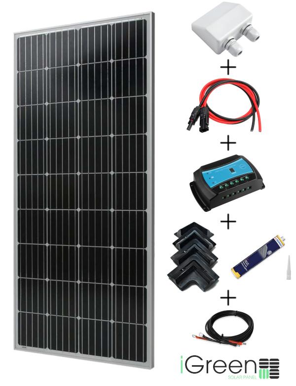 kit panneau solaire camping car