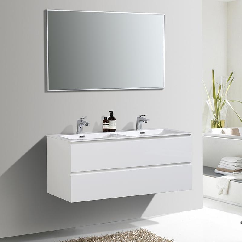 meuble de salle de bain 120 cm double vasque